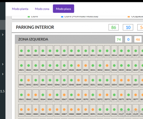 iVIEW software for parking