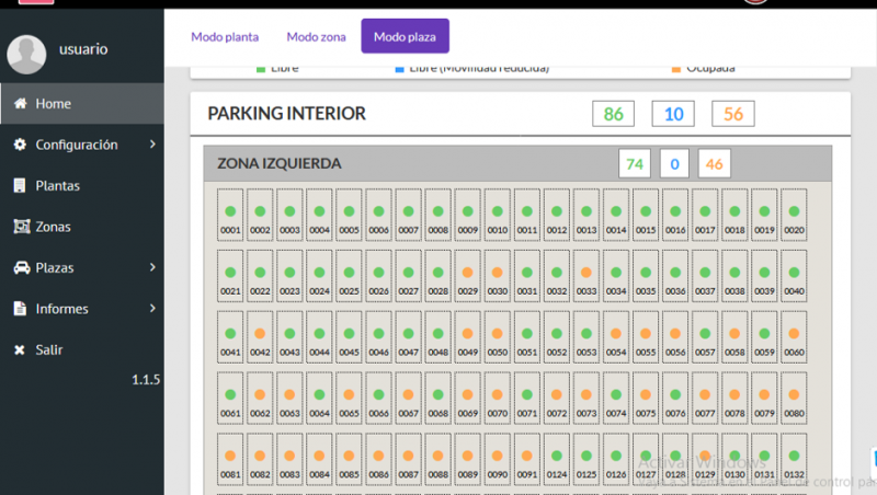 Software iVIEW for parking